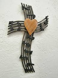 wall crosses wall cross melody to the lord with your heart cruznatualsite
