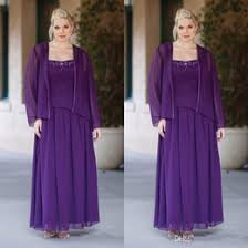 where to find best cheap purple mother bride dresses jackets