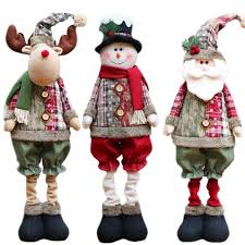 New Year Ornaments Craft 1pc Santa Dolls Gifts Pendant Sale Tree Decorations