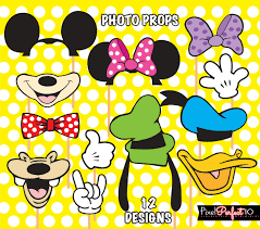 mickey mouse photo booth props mickey mouse photo booth props mickey mouse birthday mickey