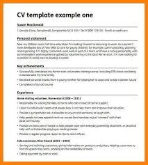 Sample Blank Resume by 6 Blank Cv Template Childcare Resume