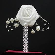 Cheap Corsages For Prom Sale Wedding Bridegroom Groom Boutonniere Corsage Man Suit