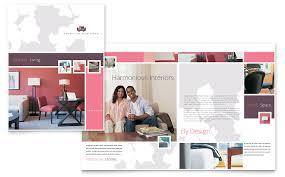 interior designer brochure template word u0026 publisher