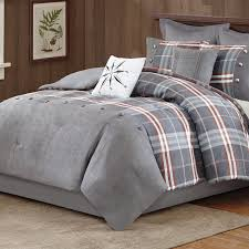 Eddie Bauer Rugged Plaid Comforter Set Woolrich Woodlands Comforter Set U0026 Reviews Wayfair