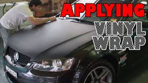 what are wraps time applying vinyl wrap