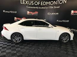 lexus service edmonton used 2017 lexus is 350 4 door car in edmonton ab l13114