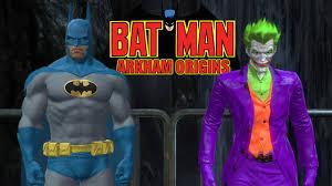 batman arkham origins classic 1970s batman and joker youtube