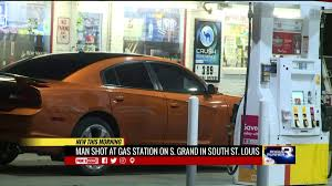 new city gas halloween victim shoots would be robber in buttocks at st louis gas station