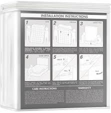 amazon com the original sleep defense system waterproof bed