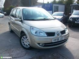 renault grand scenic luggage capacity renault grand scenic estate 1 6 vvt dynamique motopark uk
