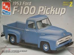 Classic Ford Truck Body Kits - amt 1953 ford f 100 part 01 youtube