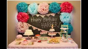 baby girl birthday ideas baby girl birthday party decorations at home ideas