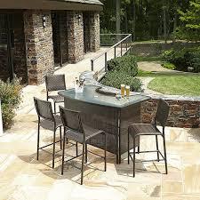 White Pub Table Set - patio astounding patio bar sets clearance patio bar sets