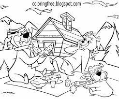 coloring pages of yogi bear yogi bear coloring pages 12551 900 1467 dosy coloring kids