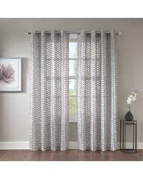 95 Inch Curtain Panels Savings On Erin 95 Sheer Grommet Top Window Curtain Panel