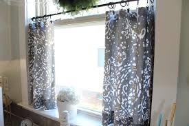 Cheap Cafe Curtains No Sew Cafe Curtains Day 22 Simple Stylings