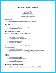Volunteer Experience Resume Example by Bartending Resume Templates Examples Of Bartender Resumes Head