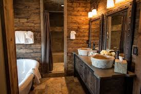 rustic cabin bathroom ideas log cabin rustic bathroom what a for the home