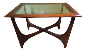 adrian pearsall for lane furniture walnut coffee table chairish