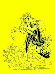 mermaid scott campbell sketchb0000k deviantart