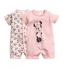 h m baby 2 pack all in one pyjamas two pyjamas all in one