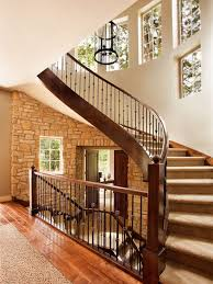 Banister Styles Railing Transitional Staircase Photos Houzz