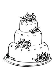 wedding cake drawing wedding cake simple many interesting cliparts