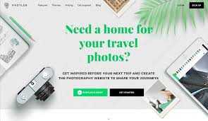 photler is a new portfolio site builder just for travel