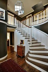 1930s Banister Entry Traditional Staircase Seattle By Paula Devon Raso