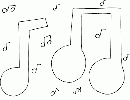 music note coloring pages pixelpictart com