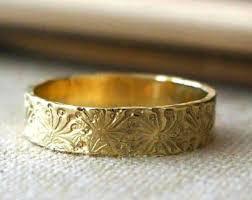 handmade wedding rings wedding rings etsy