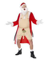 U K He Kaufen G Stig Nackter Santa Kostüm Mit Mistelzweig Am