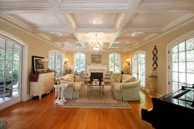 coffered ceiling ideas coffered ceiling for the cleaner room