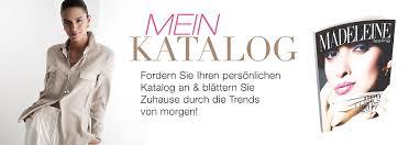 brautkleid katalog bestellen mode katalog anfordern fordern sie den madeleine katalog an