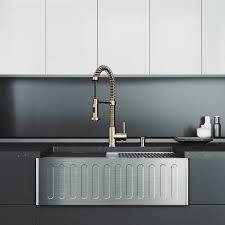home depot kitchen sink vanity vigo oxford stainless steel 30 in single bowl farmhouse