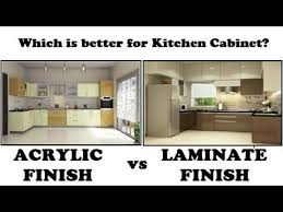 best finish for kitchen cabinets lacquer acrylic finish vs laminate finish which is better for kitchen cabinet