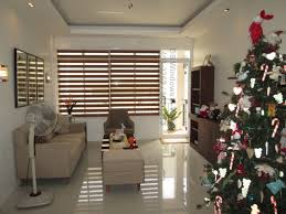 simple but home interior design simple but living with combi blinds installation at