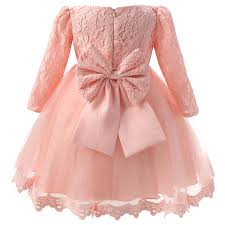 winter newborn baby dresses clothes for pink tulle dress
