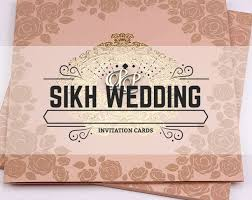 Sikh Wedding Card Buy Online Customized Designer Wedding Invitation Cards Jimit Cards