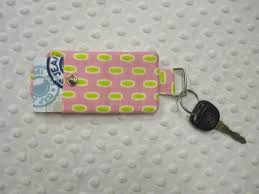 How To Carry Business Cards Quilted Monogram Pocket Key Chain