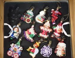 klaus blown glass ornaments