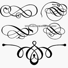 Decorative Line Clip Art Free Clipart Scrolls And Flourishes Cliparts For You