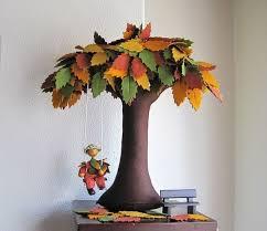 diy creative handmade felt trees from template