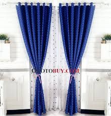 Royal Blue Curtains Blue And White Curtains Loading Zoom And White Royal Blue