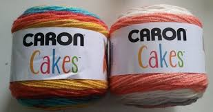 cakes yarn crochet knitting 7 1 oz 383 yards acrylic