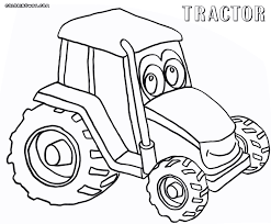 tractor coloring pages coloring pages to download and print