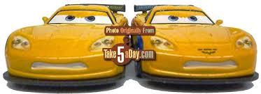jeff corvette mattel disney pixar cars 2 diecast the jeff gorvette corvette