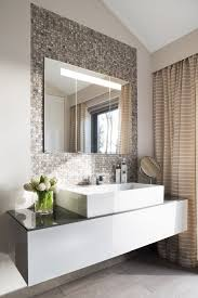 Mirror Backsplash Tiles by Mirror Backsplash Tiles Bathroom Contemporary With Vase