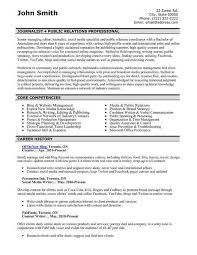 Crisis Management Resume Pr Resume Examples Relations Executive Resume Example Pr Manager