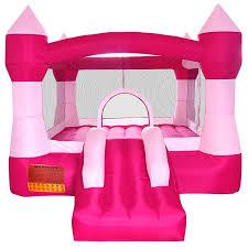 amazon com cloud 9 princess inflatable bounce house pink castle